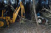 Hoe te graven een gat met een Backhoe