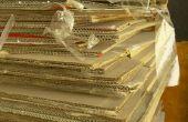 How to Build kast muren met behulp van karton
