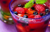 Het toevoegen van Fruit aan Jell-O
