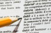 De voordelen van de internationale schuldenlast