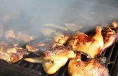 Hoe u kunt besturen van kolen warmte op een Weber Grill