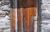 How to Build een kruipruimte deur op blok plint