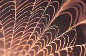 Hoe te maken van spinnenwebben uit papier