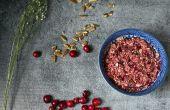 How to Make Cranberry oranje Relish met pecannoten