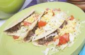 Hoe maak je taco's zonder gebruik te maken van een voorbereide Mix