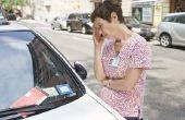 Hoe schrijf je een oproep voor een schending van het parkeren