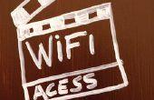 Verbinding maken met het Internet via WiFi