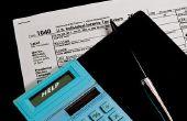 Hoe op aftrek van de onroerende voorheffing met een standaard aftrek met de IRS