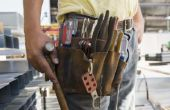 Lijst van instrumenten die worden gebruikt in de bouw
