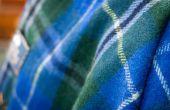 Hoe wol wassen dekens