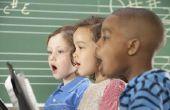 Wanneer kinderen beginnen te zingen?
