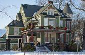 Wat Is het verschil tussen een huis van de stijl van Queen Anne en een Victoriaans?