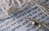 Hoe maak je een joodse gebed sjaal