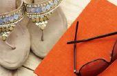 Hoe te verwijderen van geuren uit sandalen met azijn