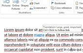 Hoe maak je een aangepaste scherminfo in Microsoft Word