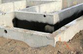 Wat Is de wanddikte van de typische betonnen kelder?