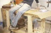 Hoe maak je een bankje van de houtbewerking
