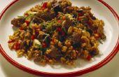 Bruin Basmati rijst koken richtingen