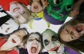 Derde basisschool Halloween Party spellen