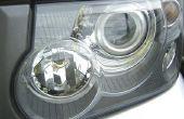 Hoe vervang ik de koplamp-lamp in een 2001 Toyota Corolla