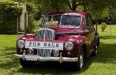 Hoe om te verkopen van een auto, die je bent nog steeds iets op