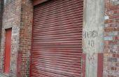 Het aanpassen van de keten op een Sears Garage deuropener