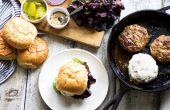 Makkelijk recept op How to Cook sappige Turkije hamburgers in de Oven