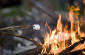 Wat zijn de kleuren van een brand & hoe warm zijn ze?