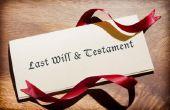 Dingen te overwegen bij het schrijven van een testament