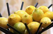 Het SAP van een citroen zonder een Juicer