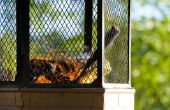 Hoe te gebruiken Citronella olie voor buiten vuurkuilen