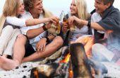 Hoe een strand Bonfire feestje