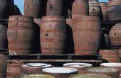 Hoe maak je een Bar gemaakt van Whisky vaten