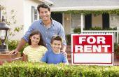 Het instellen van een huurprijs voor een huis