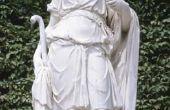 Zelfgemaakte Griekse mythologie kostuums