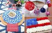 Hoe te te verfraaien uw achtertuin voor een Fourth of July-feest