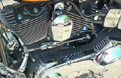 Het wijzigen van de koelvloeistof op een Honda VTX 1800