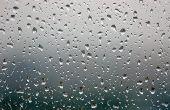 Het gebruik van een regen ketting zonder dakgoten