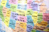 Hoe maak je een kaart van Verenigde Staten