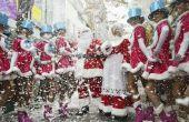 Zelfgemaakte kerst kostuums