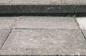 How to Build Flagstone post stappen & Landing