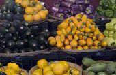 Hoe maak je groente kunst voor kinderen