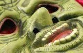 How to Make gloeiende ogen op een Monster masker