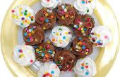 Kunt u vloeibare voedselkleuring voor Tie Dye Cupcakes?