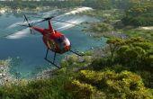 Leven vlucht helikopter piloot salaris