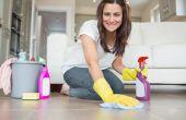 Hoe vaak moet u een huis schoonmaken?