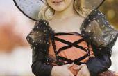 Heks make-up ideeën voor een klein meisje