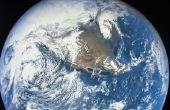 Waarom de aarde verschijnt blauwe From Outer Space?
