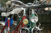 Hoe maak je een fiets uit papier