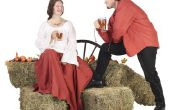 Hoe maak je een mannelijke middeleeuwse boer kostuum